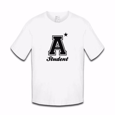 Picture of A Plus Varsity Student Girls Tshirt