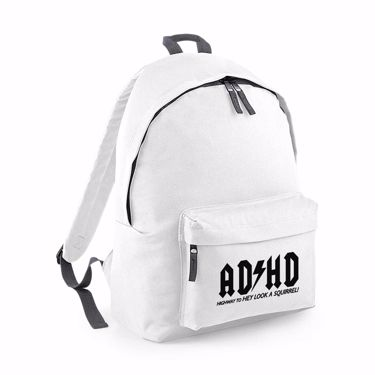 Picture of Adhd Highyway To Hey Look A Squirrel Junior Backpack