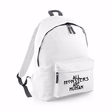 Picture of All Monsters Are Human Junior Backpack