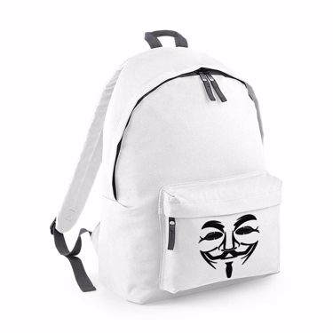 Picture of Anonymous Group Guy Fawkes Mask Junior Backpack