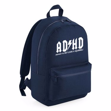 Picture of Adhd Highyway To Hey Look A Squirrel Kids Backpack