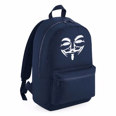 Picture of Anonymous Group Guy Fawkes Mask Kids Backpack