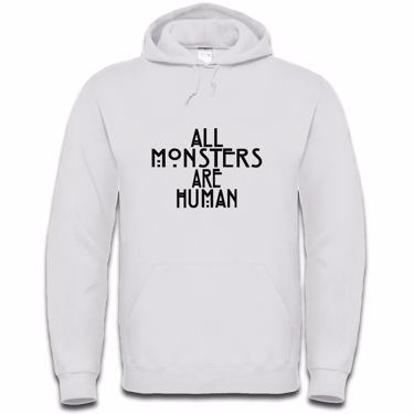 Picture of All Monsters Are Human Mens Hoodie