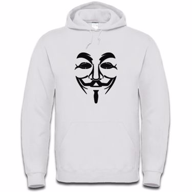 Picture of Anonymous Group Guy Fawkes Mask Mens Hoodie