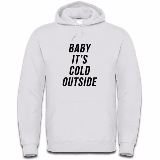 Picture of Baby Its Cold Outside Mens Hoodie