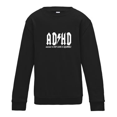 Picture of Adhd Highyway To Hey Look A Squirrel Mens Sweatshirt