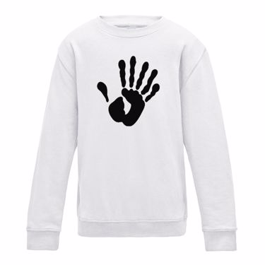 Picture of Alien Hand Six Fingers Mens Sweatshirt