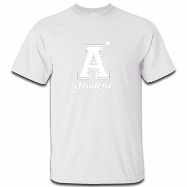 Picture of A Plus Varsity Student Mens Tshirt