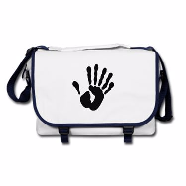 Picture of Alien Hand Six Fingers Messenger Bag