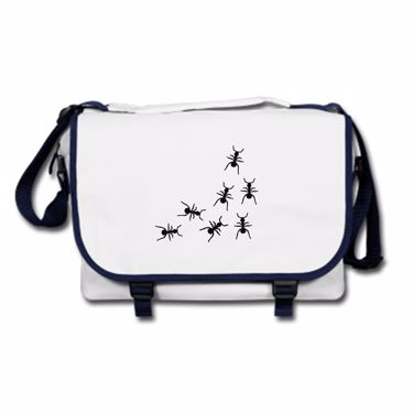 Picture of Ants Crawling Messenger Bag