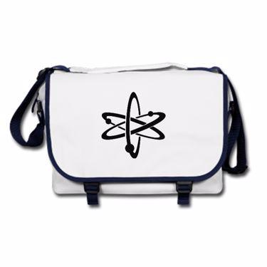 Picture of Atom Symbol Messenger Bag