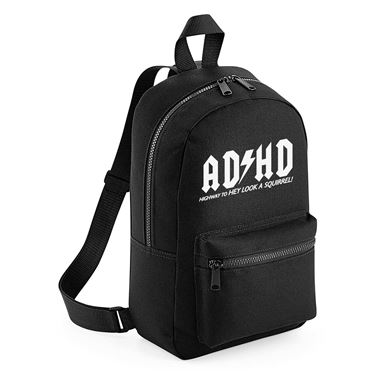 Picture of Adhd Highyway To Hey Look A Squirrel Mini Backpack