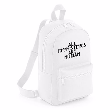 Picture of All Monsters Are Human Mini Backpack