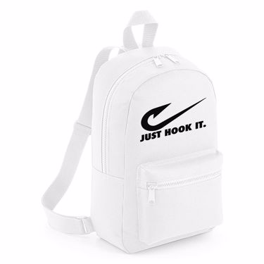 Picture of Angler Fishing Just Hook It Mini Backpack