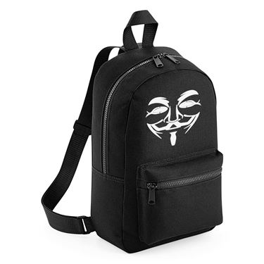 Picture of Anonymous Group Guy Fawkes Mask Mini Backpack