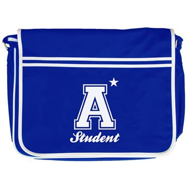 Picture of A Plus Varsity Student Retro Messenger Bag