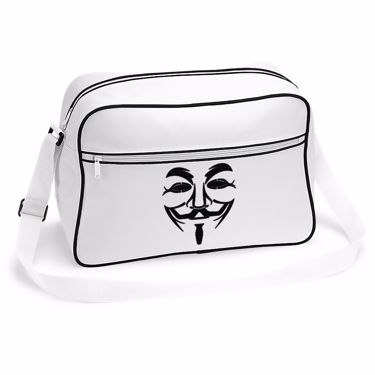 Picture of Anonymous Group Guy Fawkes Mask Retro Shoulder Bag