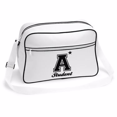 Picture of A Plus Varsity Student Retro Shoulder Bag