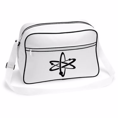 Picture of Atom Symbol Retro Shoulder Bag
