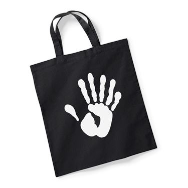 Picture of Alien Hand Six Fingers Reusable Bag For Life