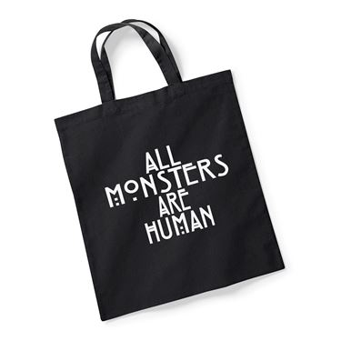Picture of All Monsters Are Human Reusable Bag For Life