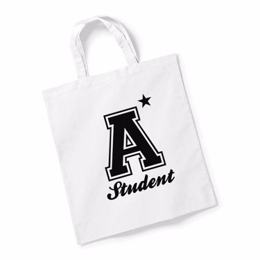 Picture of A Plus Varsity Student Reusable Bag For Life