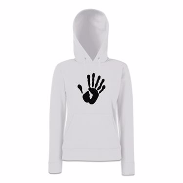 Picture of Alien Hand Six Fingers Womens Hoodie