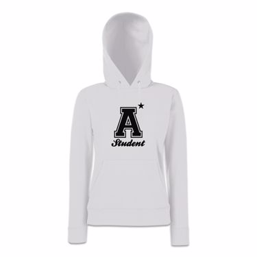 Picture of A Plus Varsity Student Womens Hoodie