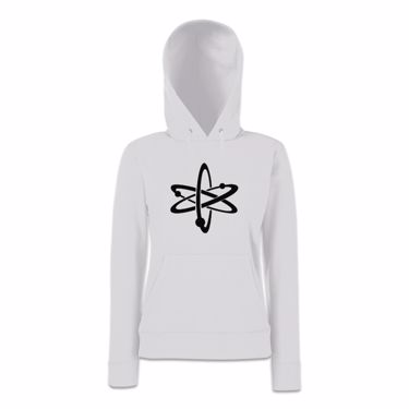 Picture of Atom Symbol Womens Hoodie