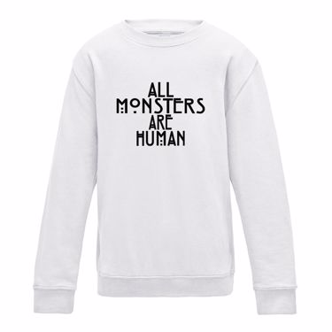 Picture of All Monsters Are Human Womens Sweatshirt
