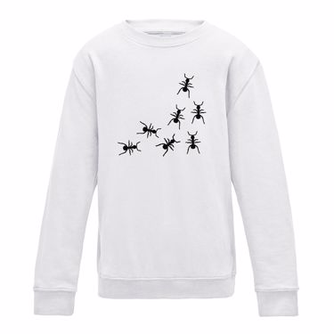 Picture of Ants Crawling Womens Sweatshirt