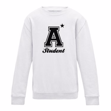 Picture of A Plus Varsity Student Womens Sweatshirt
