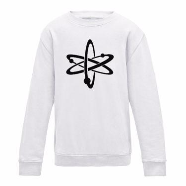 Picture of Atom Symbol Womens Sweatshirt