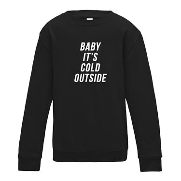 Picture of Baby Its Cold Outside Womens Sweatshirt