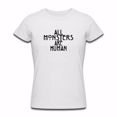 Picture of All Monsters Are Human Womens Tshirt