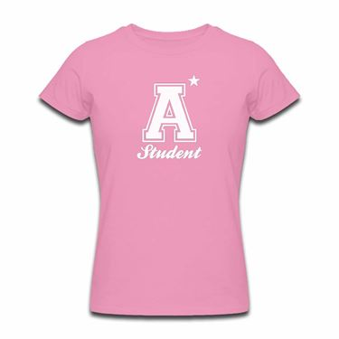 Picture of A Plus Varsity Student Womens Tshirt
