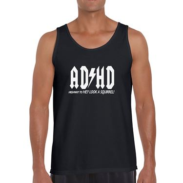 Picture of Adhd Highyway To Hey Look A Squirrel Mens Vest
