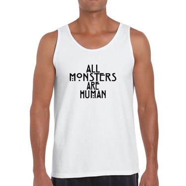 Picture of All Monsters Are Human Mens Vest