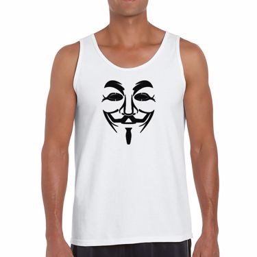 Picture of Anonymous Group Guy Fawkes Mask Mens Vest
