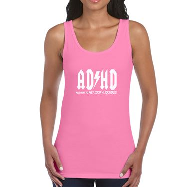 Picture of Adhd Highyway To Hey Look A Squirrel Womens Vest