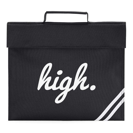 67f538a891b8 High Wasted Youth Book Bag. Available in many colours. Free delivery ...