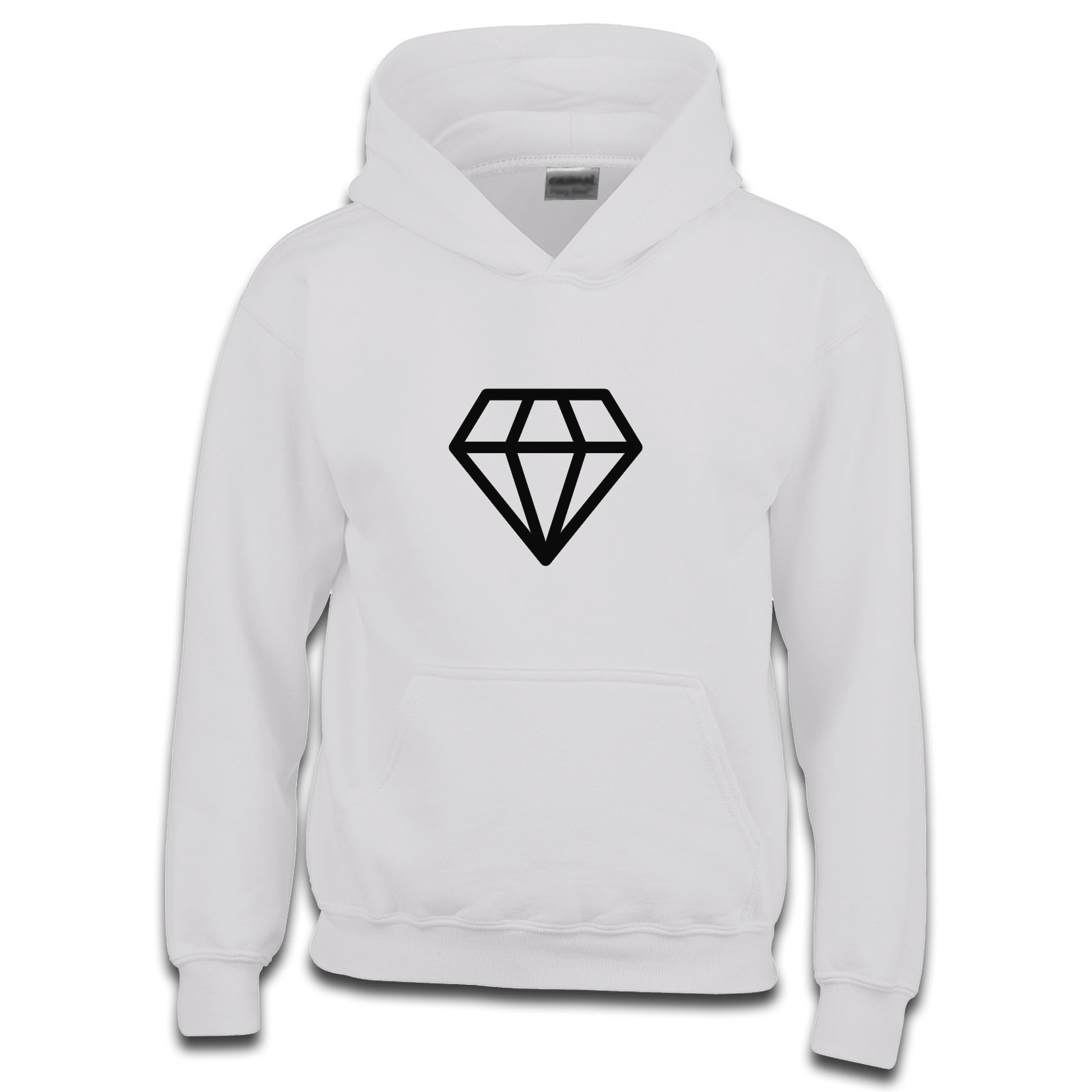 Dope diamond basic outline girls hoodie available in many colours jpg  1600x1600 Dope diamond hoodie 22da1116680