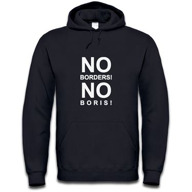 Picture of Eu Referendum Vote Remain No Borders No Boris Mens Hoodie
