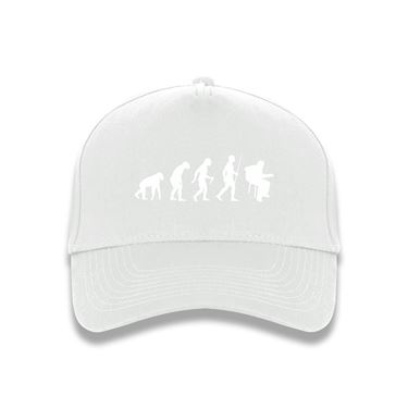 Picture of Evolution Of Man Acoustic Guitar Musician Baseball Cap
