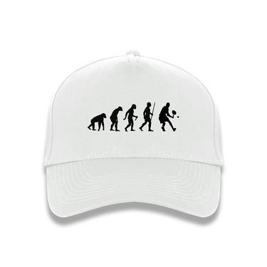 Picture of Evolution Of Man Tennis Baseball Cap