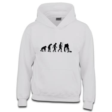 Picture of Evolution Of Man Athletics Ice Curling Boys Hoodie