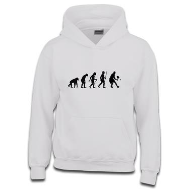 Picture of Evolution Of Man Tennis Boys Hoodie