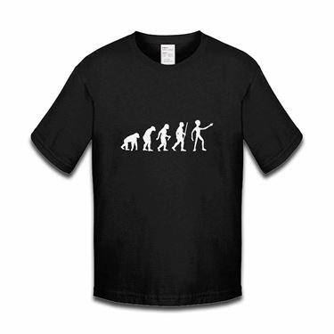 Picture of Evolution Of Man Alien Boys Tshirt