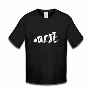 Picture of Evolution Of Man Alien Ripley Egg Mother Boys Tshirt