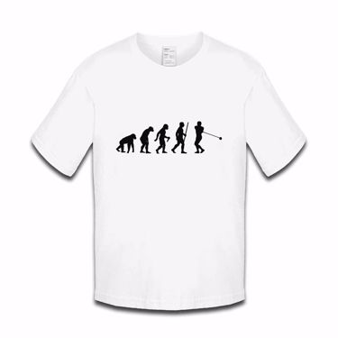 Picture of Evolution Of Man Athletics Hammer Boys Tshirt